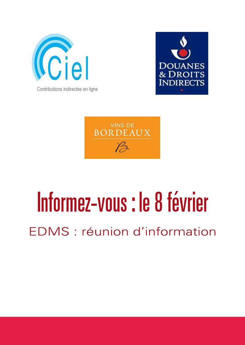 EDMS réunion d'information