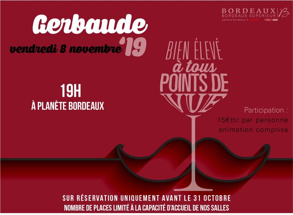 Invitation Gerbaude 2019