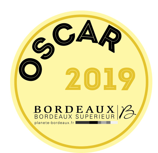 Macaron Oscar blanc 2019
