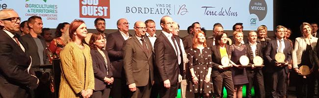 Trophées Bordeaux Vignoble Engagé - AOC Bordeaux et Bordeaux Supérieur