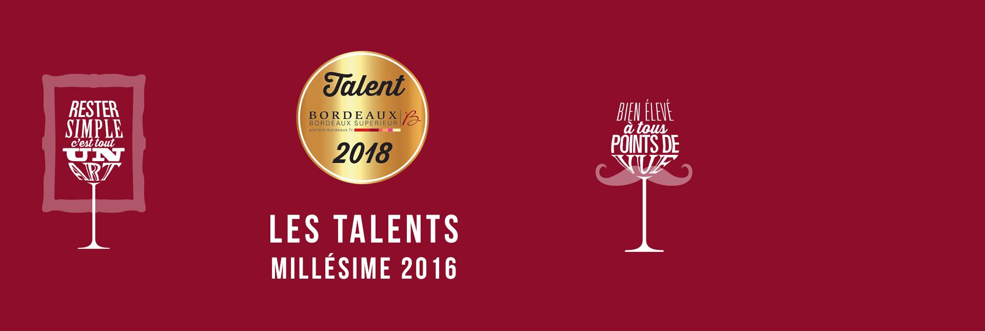 Les Talents 2018
