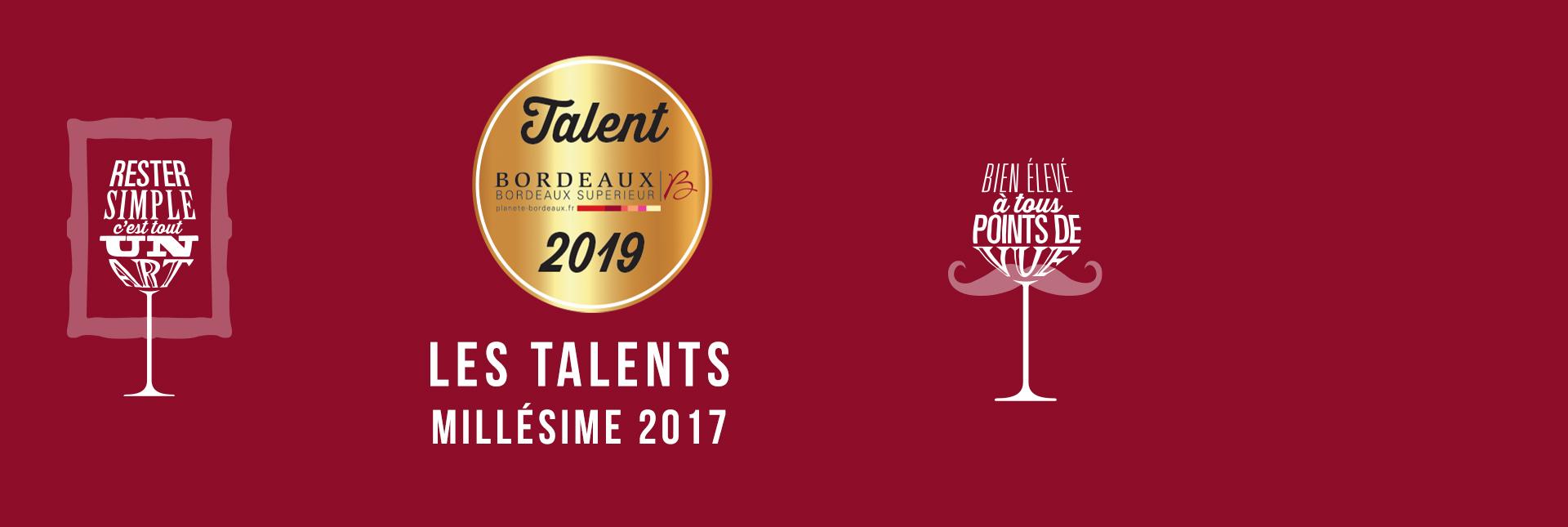 Les Talents édition 2019