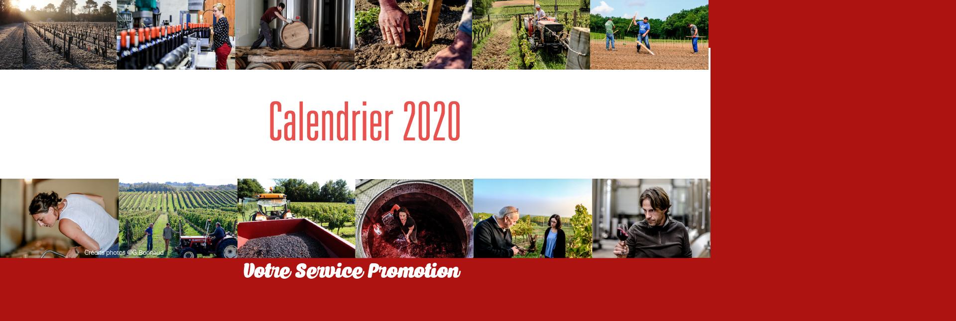 Actions de promotion 2020