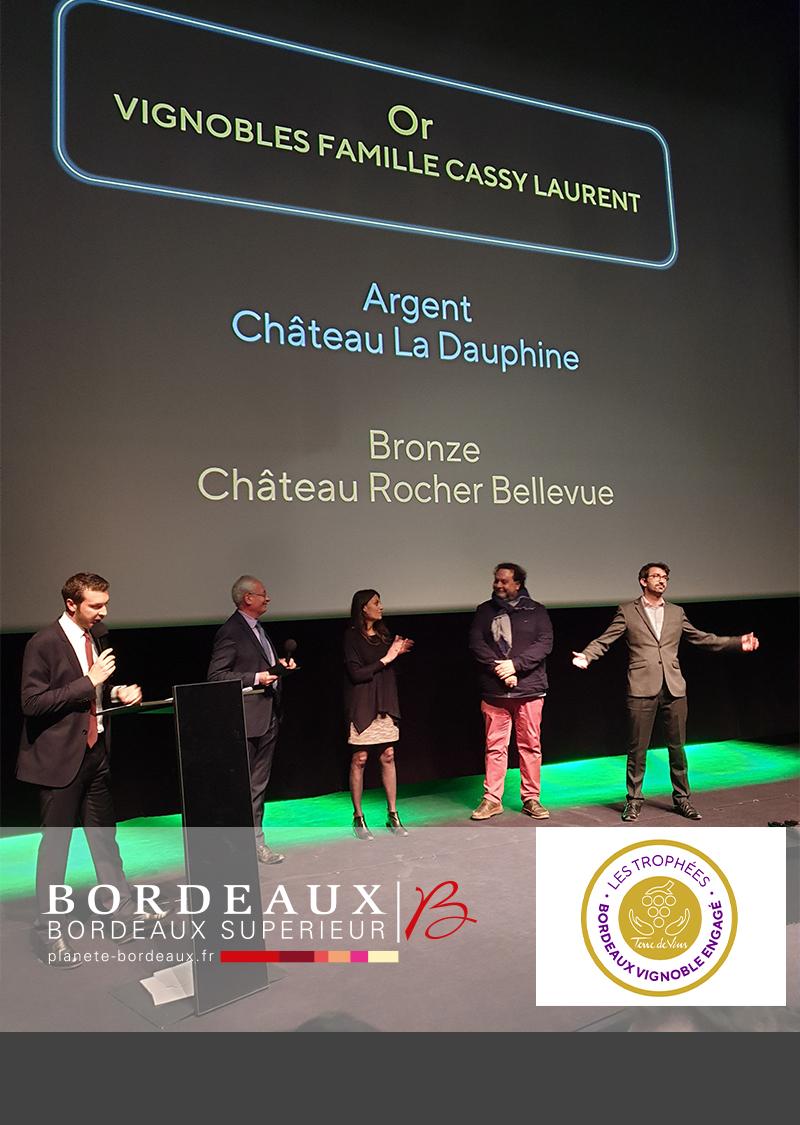 Trophées Bordeaux Vignoble Engagé