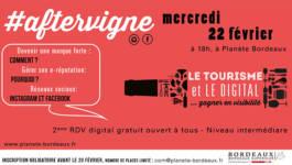 Votre Rendez-Vous digital #aftervigne revient !