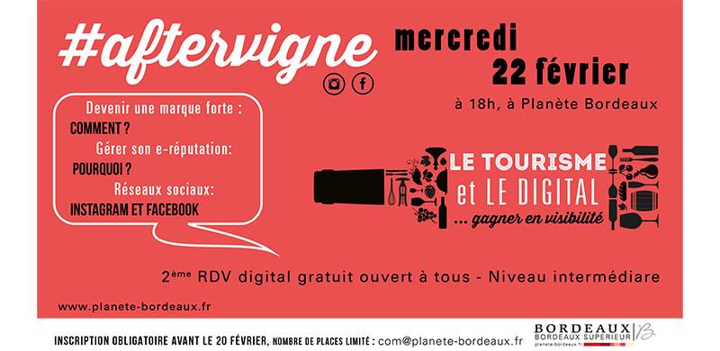 Votre Rendez-Vous digital #aftervigne N°2