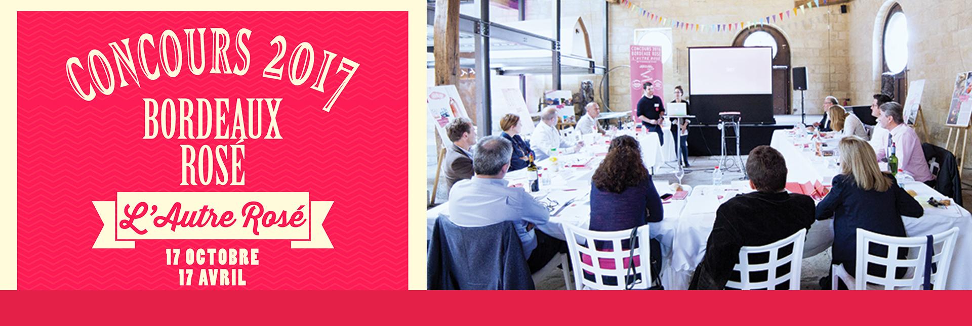 Concours Bordeaux Rosé 2017 : la finale