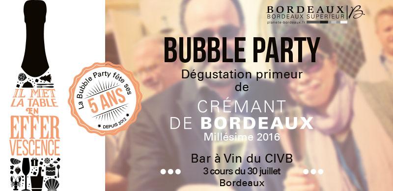 Bubble Party 2017 !