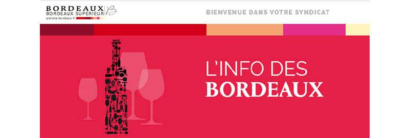 L'Info des Bordeaux 2020