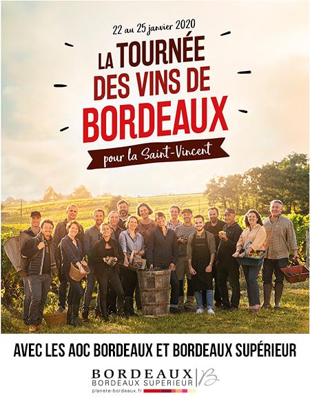 La Tournée des vins de Bordeaux pour la Saint-Vincent