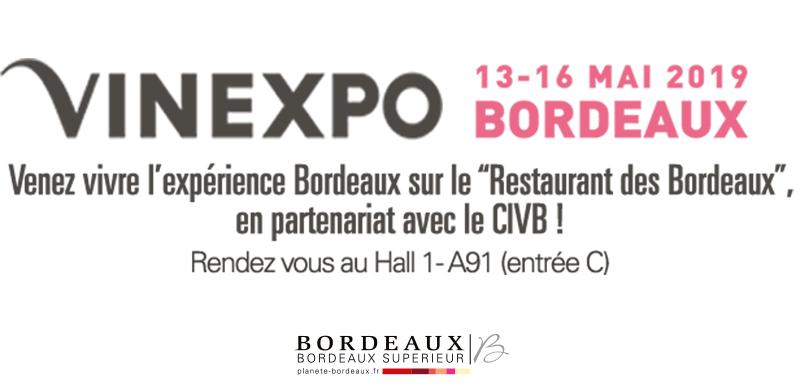 Vinexpo Bordeaux 2019