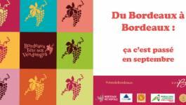 Les Bordeaux à l'honneur pour les vendanges