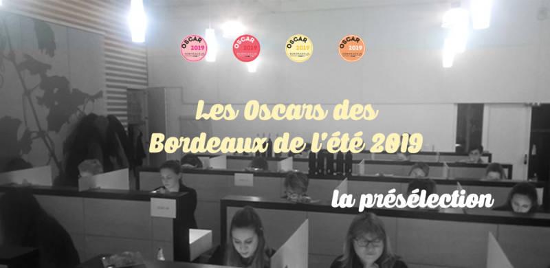 Oscars des Bordeaux de l'été 2019 – présélection
