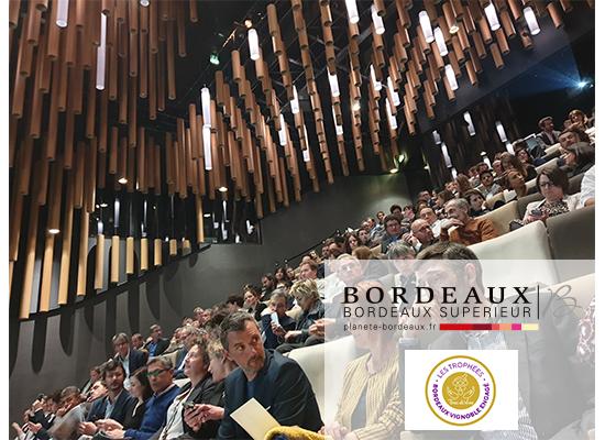 Trophée Bordeaux Vignoble Engagé 2019 - AOC Bordeaux et Bordeaux Supérieur