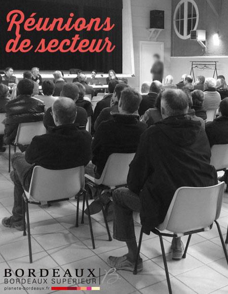 RÉUNIONS DE SECTEUR 2019-2020