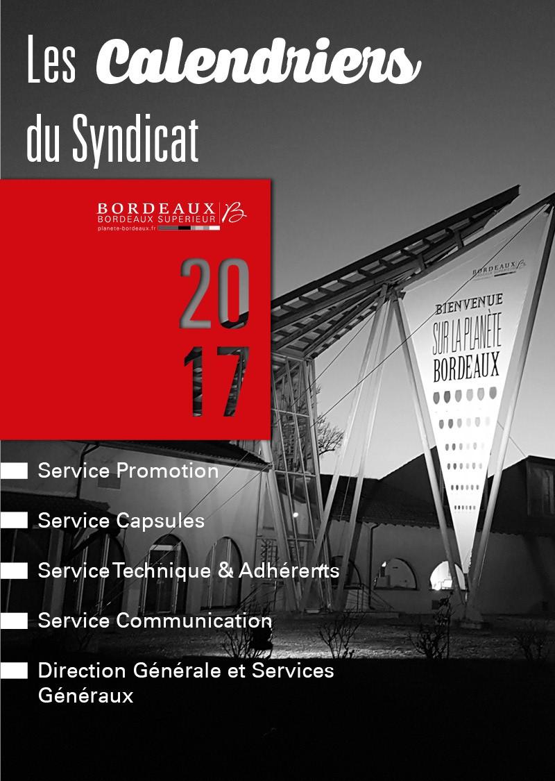 Les événements 2017 du Syndicat des Bordeaux